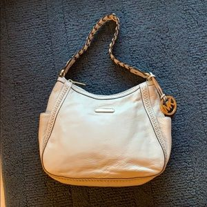 New White Michael Kors Hobo Purse